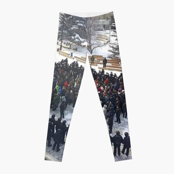 Russian People and State Power Leggings