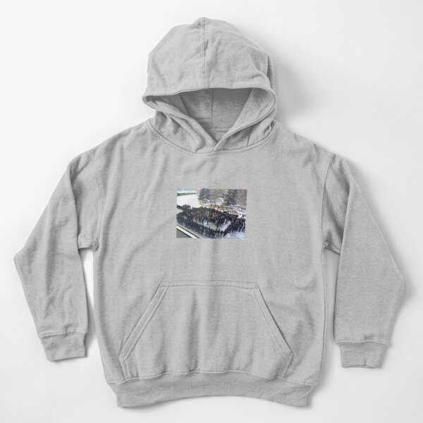 Russian People and State Power Kids Pullover Hoodie