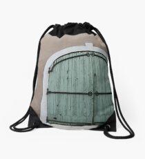 Make do and mend. Drawstring Bag