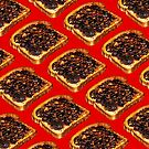 Vegemite Toast Pattern by Kelly  Gilleran