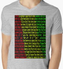 Reggae Artist - Roll Call Vol 2 Mens V-Neck T-Shirt