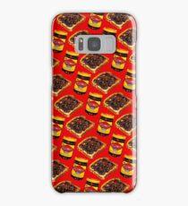 Vegemite and Toast Pattern Samsung Galaxy Case/Skin