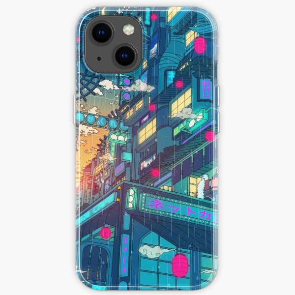 Rain Village iPhone Soft Case