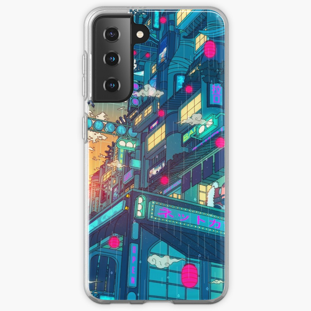 Rain Village Case & Skin for Samsung Galaxy