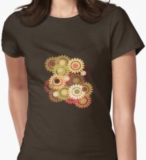 Clockwork Flowers  T-Shirt