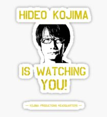 Kojima is Watching Sticker