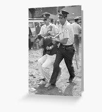 Bernie Arrest Greeting Card