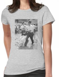 Bernie Arrest Womens Fitted T-Shirt