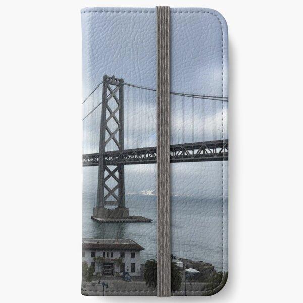 Bay Bridge San Francisco iPhone Wallet