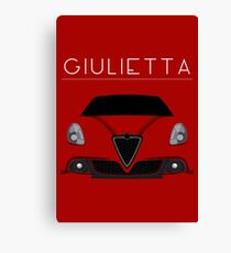 Italian red passions Canvas Print