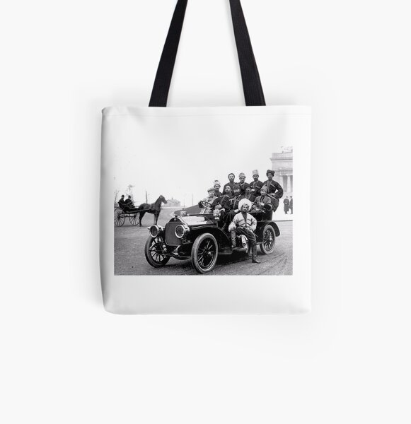Historical Photography All Over Print Tote Bag