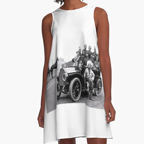 Historical Photography A-Line Dress