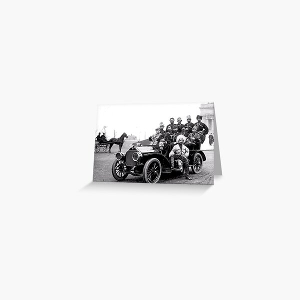 Historical Photography Greeting Card