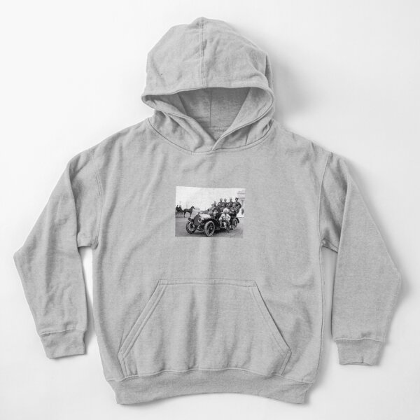 Historical Photography Kids Pullover Hoodie