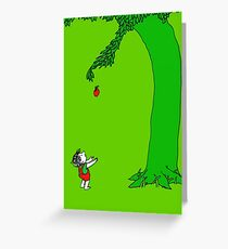 Givin' tree Greeting Card