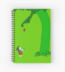 Givin' tree Spiral Notebook