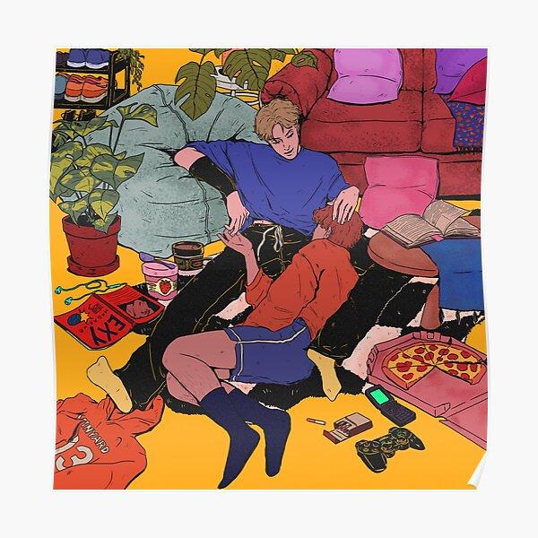 aftg andreil illustration (colored) Poster