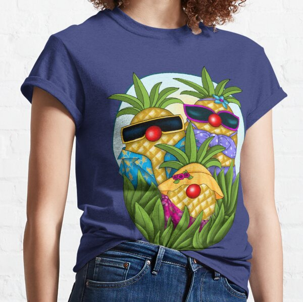 Tropical Pineapple Passion Classic T-Shirt
