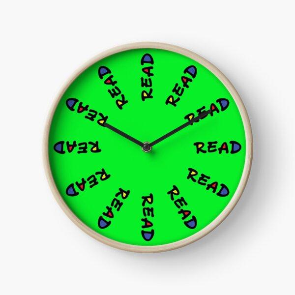 "Green ""Read""  Clock"
