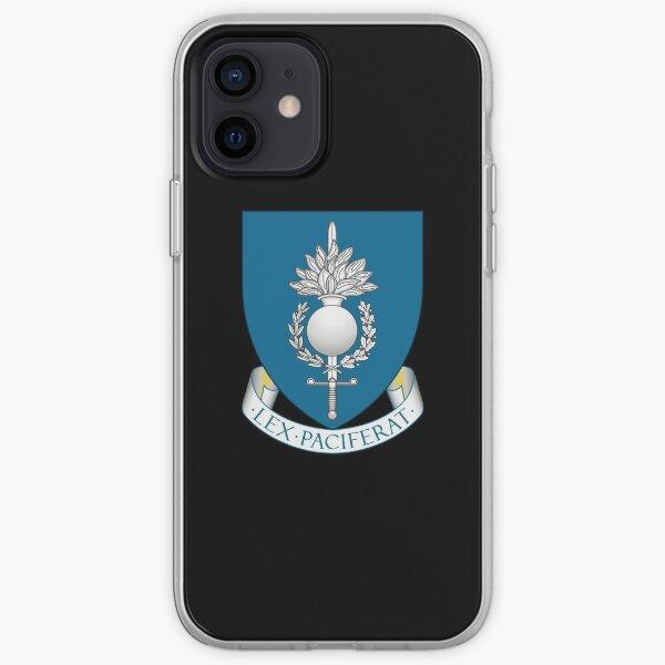 EUROPEAN GENDARMERIE FORCE EGF Coque souple iPhone
