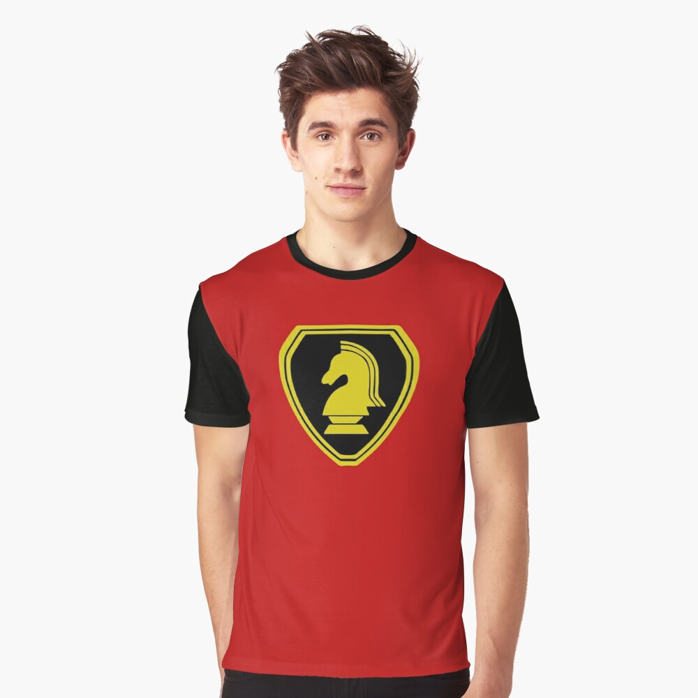 Knight Rider Raglan Sleeve Tee for Men