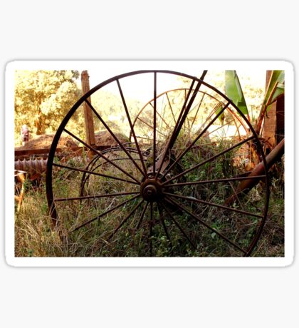 #SERIES WEGRAAKBOSCH -OLD FORGOTTON FARM IMPLEMENTS - Limpopo Province, South Africa Sticker