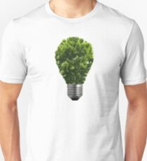 Green Lightbulb Unisex T-Shirt