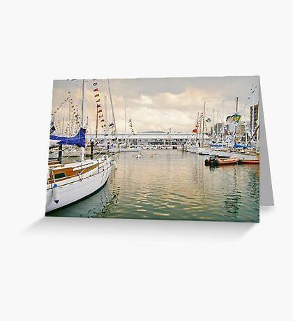 Constitution Dock Greeting Card