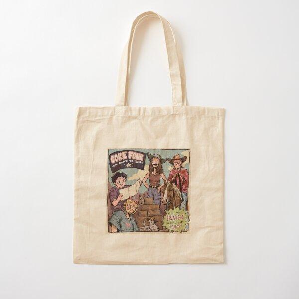 CORE FOUR: THE ROAD TO TEXAS   Mel.omane Cotton Tote Bag
