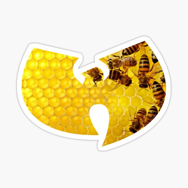 Wu Tang Honeycomb  Sticker