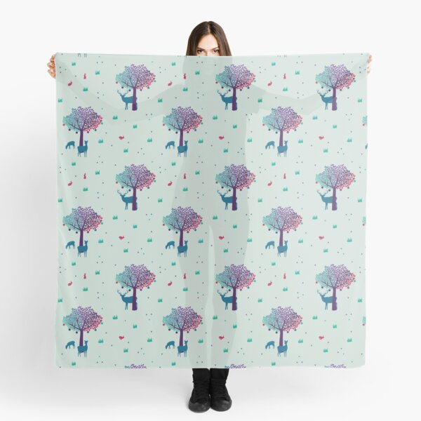 A Walk in the Mystic Forest  Scarf