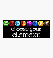 Magicka, choose your element (8x1) Photographic Print