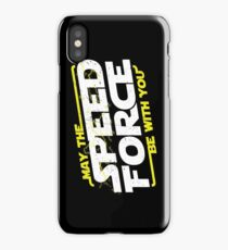 May The Speed Force Be With You iPhone Case