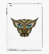 Owl Minimalism Brown iPad Case/Skin