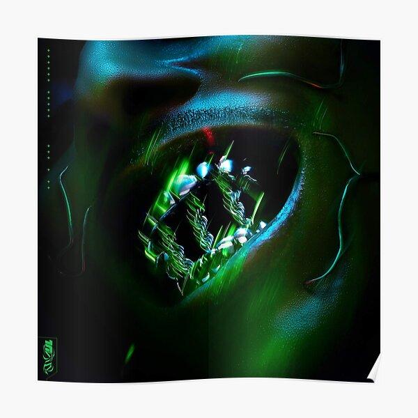 Laylow triniry à dents vertes Poster