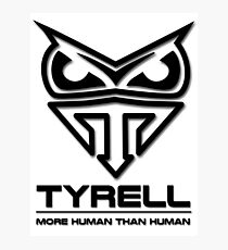 Blade Runner - Tyrell Corporation Logo Photographic Print