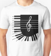 Piano keys Unisex T-Shirt