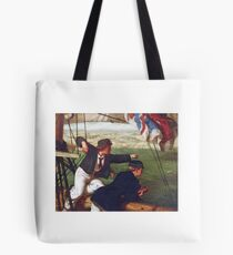 Philip Richard Morris - Two Young Midshipmen in Sight of Home,  Tote Bag