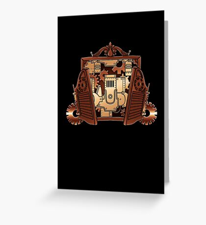Clockwork Inside Greeting Card