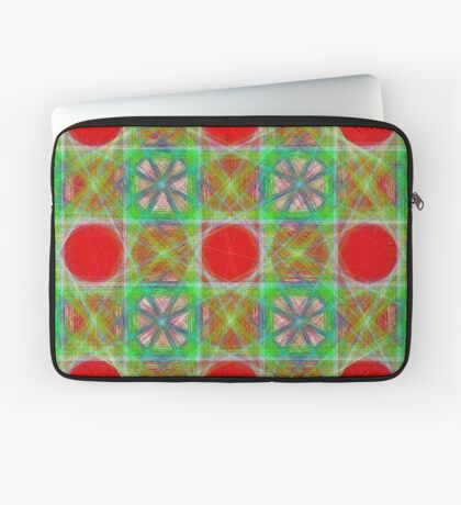 Nine Red Button Planets Laptop Sleeve