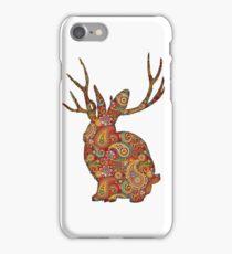 The Paisley Rabbit iPhone Case/Skin