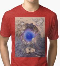 The Metaphysical Head Tri-blend T-Shirt