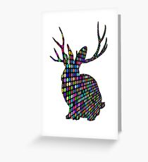 The Spotty Rabbit Greeting Card
