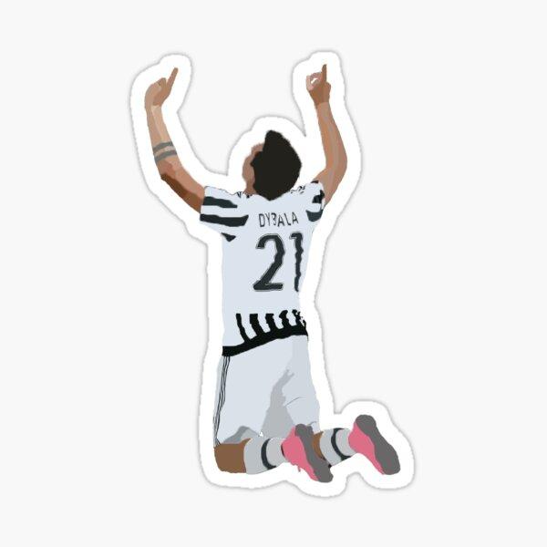 Paulo Dybala Minimalistic Sticker  Sticker