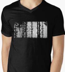 Deep In the Forest Men's V-Neck T-Shirt