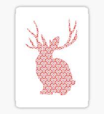 The Pattern Rabbit Sticker