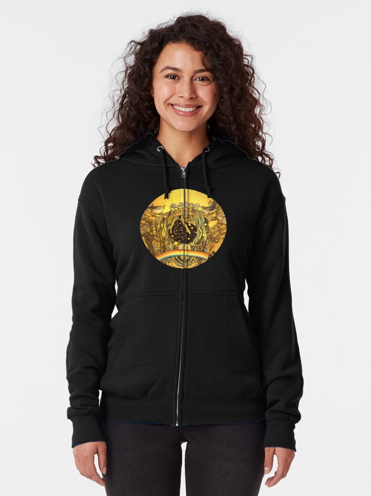 Alternate view of Transformation Zipped Hoodie