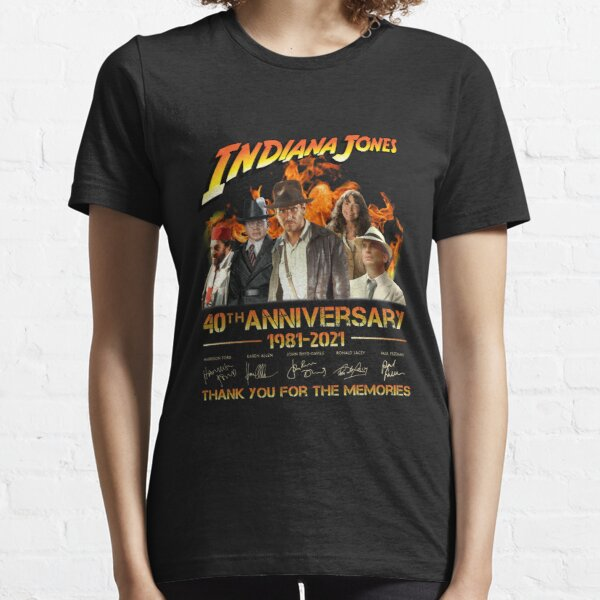 Indiana Jones 40th Anniversary 1981-2021 Thank You For The Memories unisex shirt Essential T-Shirt