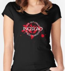 Ingstad Shield Maidens Women's Fitted Scoop T-Shirt