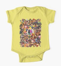 Smash Brothers One Piece - Short Sleeve